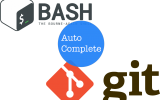 GIT and Bash Logos